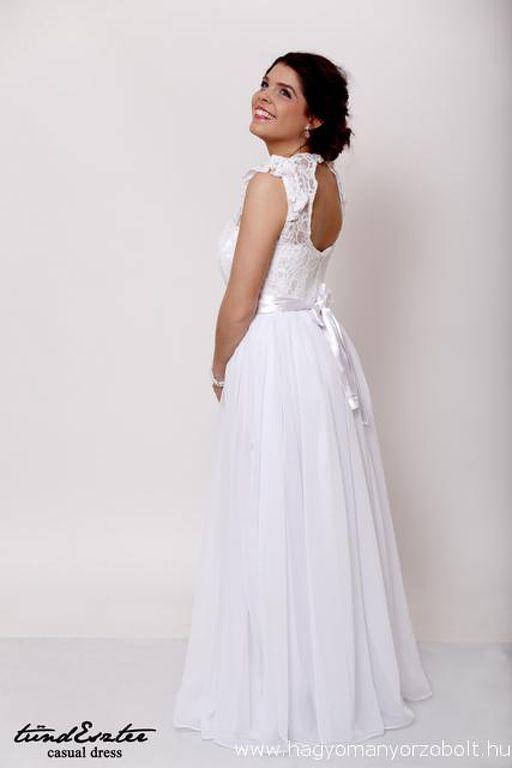 3191576380 Csipkés menyasszonyi ruha - tündEszter